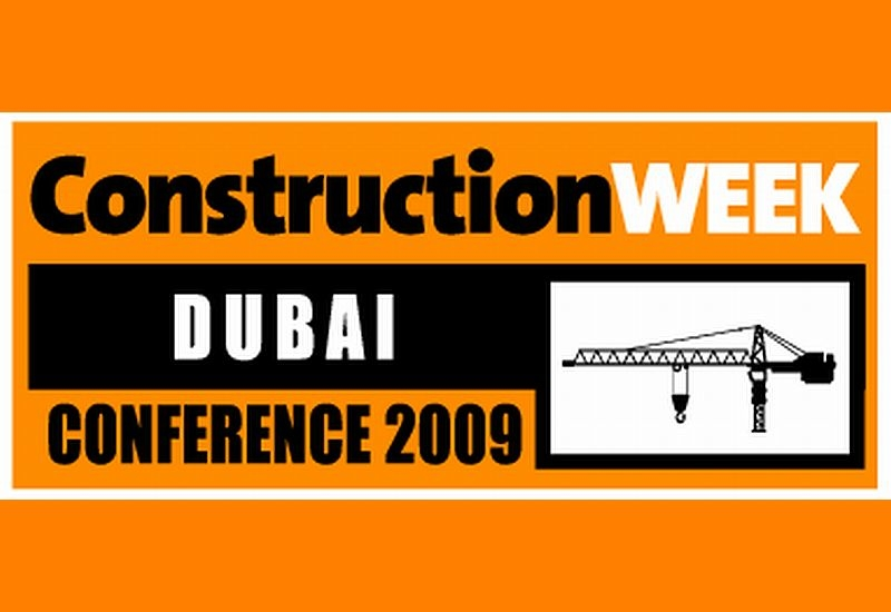 The Construction Week Conference is being held in Dubai today