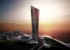 Rakeen is to invest US $400 million (AED 1.5 billion) in construction of a flagship convention