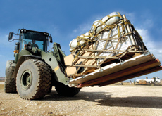 Rolling stock: Material handling machinery is an increasing source of sales for equipment companies in the region
