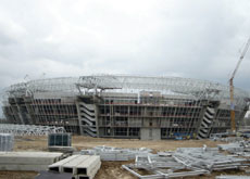 Projects further afield, like the Ukraine's Shaktar Stadium near Donetsk, are attracting the interest of Dubai contractors