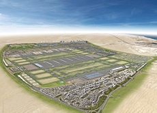 Six of the best: Dubai World Central will feature the world?s largest airport, featuring six runways, plus affiliated cities including Commercial City