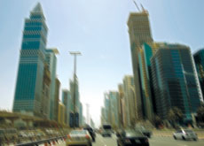 High-rise buildings along Sheikh Zayed Road were some of those to be evacuated after earthquake temblors hit Dubai last week.