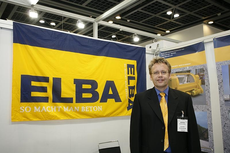ELBA Middle East delegate Rainer Paetzelt said the region's construction market saw a lot of competition