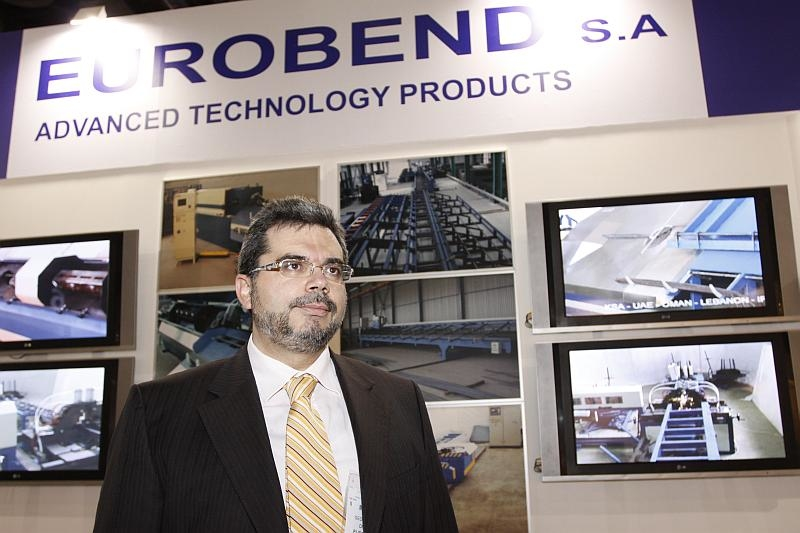 Eurobend sales and marketing director George Adamis said Eurobend had installed bases in more than 45 countries