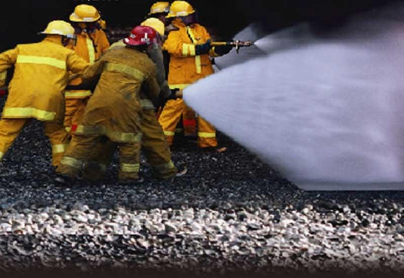 Fire crews took an hour to extinguish the blaze