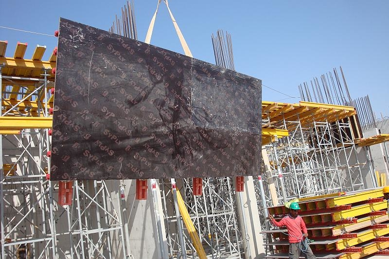 GFT is currently providing formwork to 33 low-rise properties within the development
