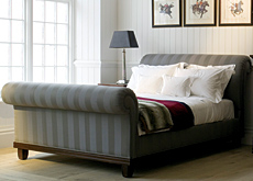 Josephine upholstered bed by And So To Bed