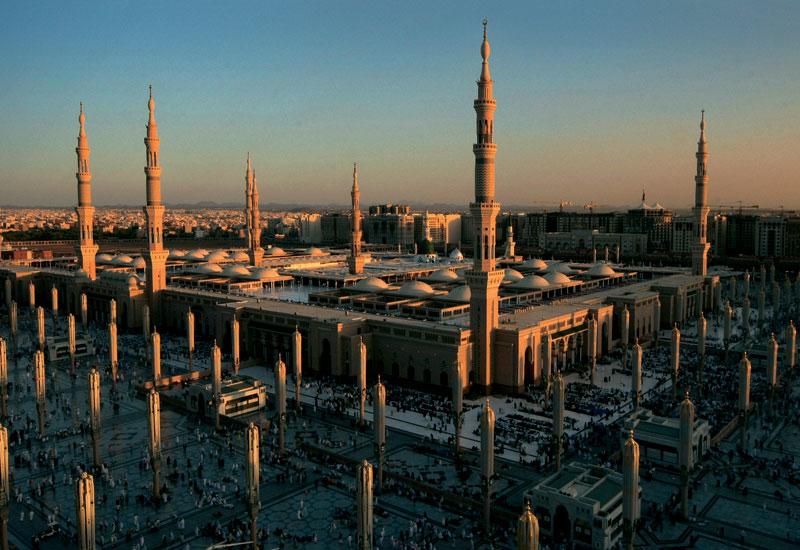 Grand Mosque, Madinah.