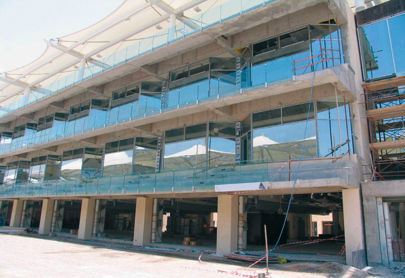 Emirates Glass supplied glass for the formula 1 grand stand at Yas Island, Abu Dhabi.
