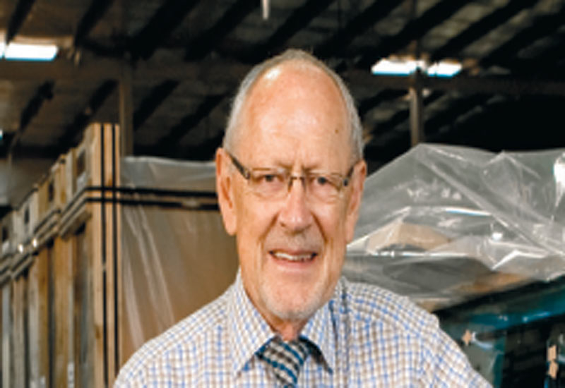 Emirates Glass technical consultant Arthur Millwood.