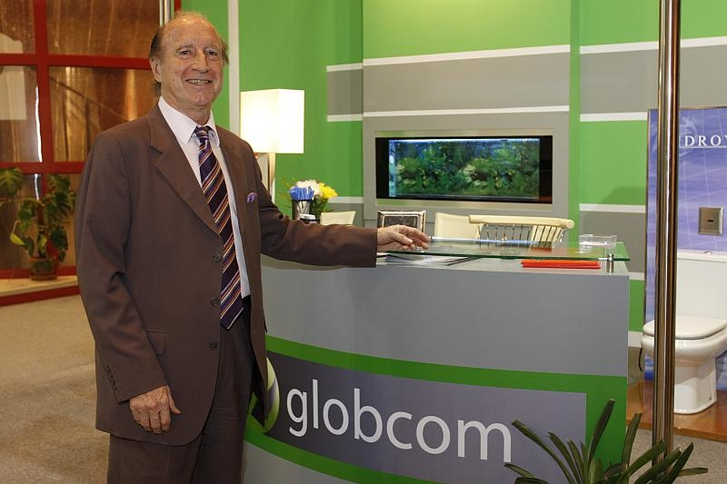 Globcom MD Jean Bellumat said Big 5's high profile made it the perfect opportunity to launch a new product