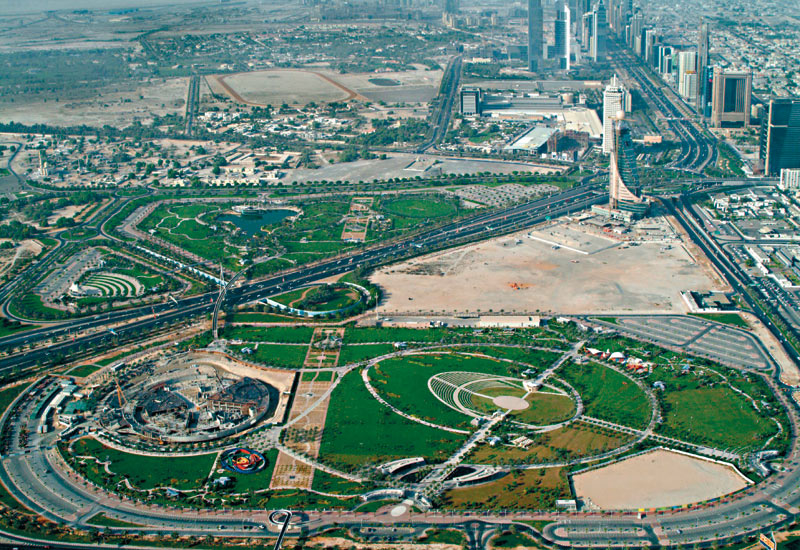 The master plans of the middle east are going green in more ways than one as companies begin to invest in sustainable landscaping.