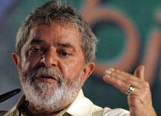 Brazil's President Luiz Inacio Lula da Silva said bio-fuel uses products such as sunflower seeds