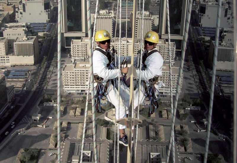 Most jobs require rope skills as well as plumbing, electrical and welding abilities.