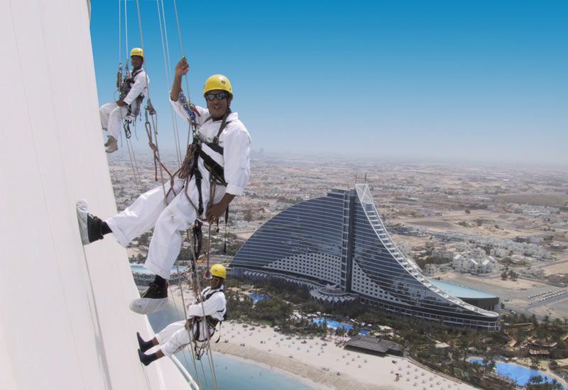 Visa rules in the Gulf often make it easier to keep track of the current skills and qualifications of rope access technicians.