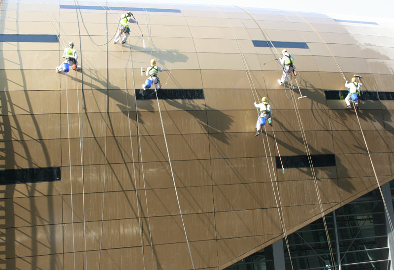 Megarme's team worked feverishly in the lead up to the grand opening of the Dubai Metro.
