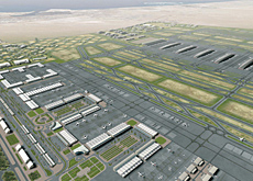 The JXB complex will include six terminals and services 120 million passengers annually.