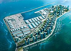Artist's impression of Dubai Maritime City.
