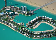 GAP YEAR: The access bridge to Reef Island in Bahrain will be built by Al Hafeera IJM Contracting