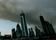 Dubai has suffered several fires in 2008. (Getty Images)