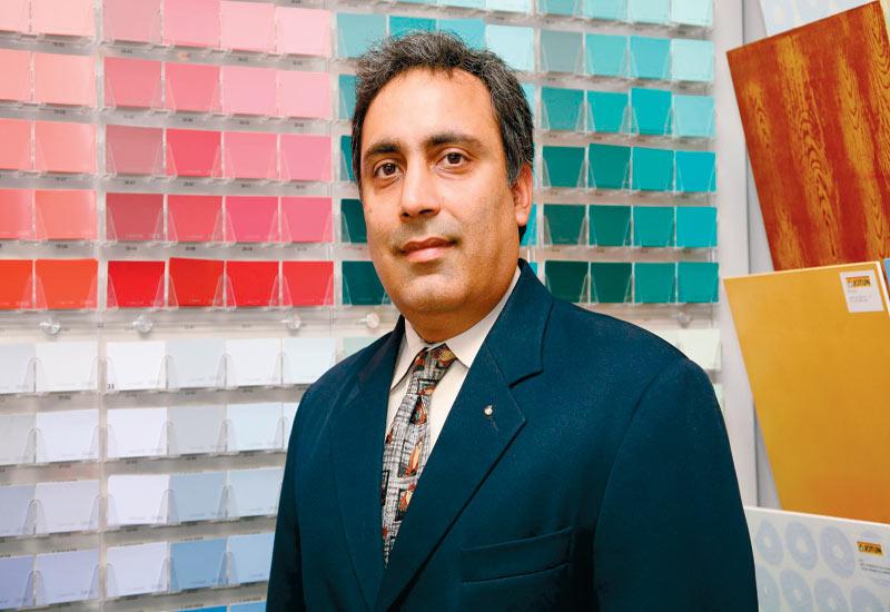Ashish Vasudev: Jotun applied 487,000 litres of paint to Burj Khalifa.