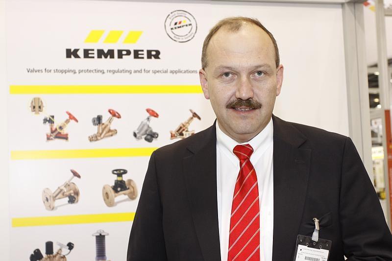 Achim Maiworm, general sales manager, Kemper Hygiene Systems