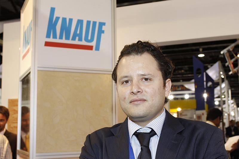 Kerim Caglar, marketing manager, Knauf Drywall Systems