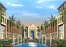 Several contracts for the Palm Jumeirah's Luxury Resort have been awarded by Al Osaimi.