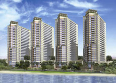 Lincoln Park in Dubailand's Arjan district is scheduled to be completed by mid 2010.