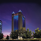Colour-changing LED panels are used on the Fairmont hotel in Dubai, which has led a major trend in the sector.
