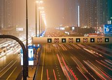 HPS provides illumination on Sheikh Zayed Road in Dubai