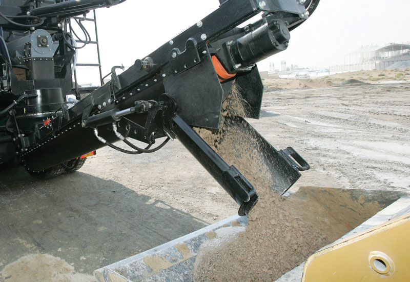 Lootah produces 1200 m3 of cement per hour.