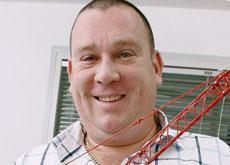 Paul King, director of Dubai-based Gulf Erectors.
