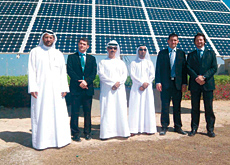 The solar tracking system can produce an output 40% higher than conventional solar