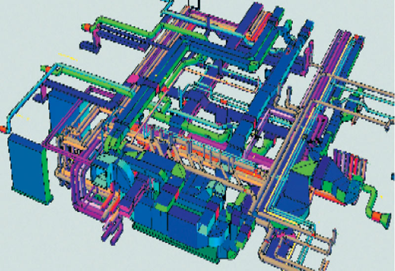 Using BIM to its full potential during construction can eliminate misco-ordination.