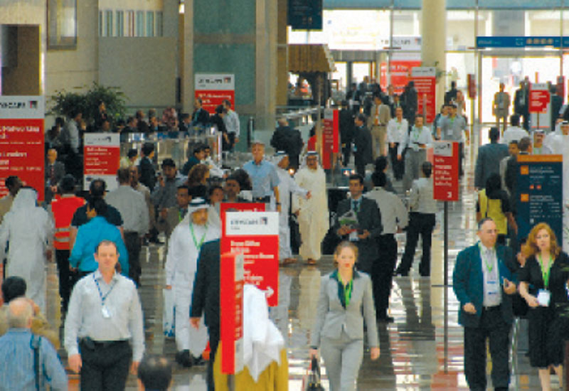 A view of the crowds at Cityscape 2009.