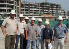 Al Habtoor-Specon's Emerald Palace Residences team.