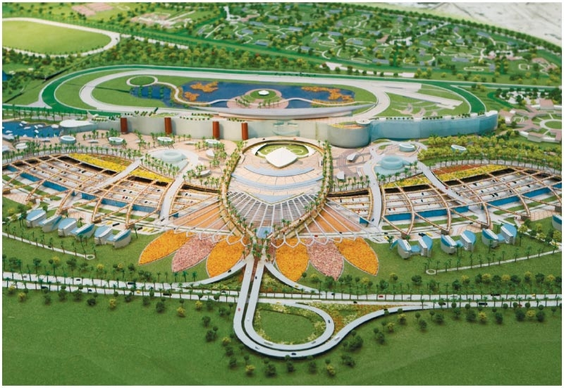 The joint venture won the contract to construct Meydan's race course in September 2007.