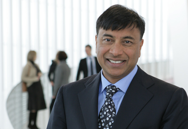 The steel industry has made Mittal Britain's richest man.