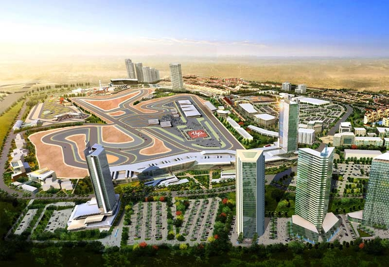 MotorCity, Dubai, is being developed by Union Properties.