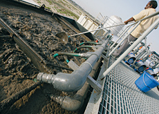 Metito and Flovac Vacuum Systems plan to promote a new sewage system in the region.
