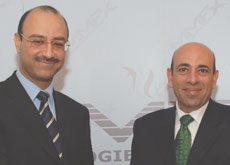 NEW: Sameh Hassan, CEO, Madar Holding and Salem Faza, president of MMFX Middle East.