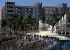 he development will contain a number of unique water features