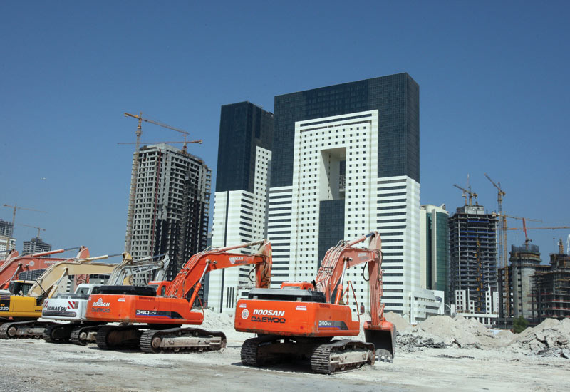 DIGGING There is a huge amount of work happening in Doha.