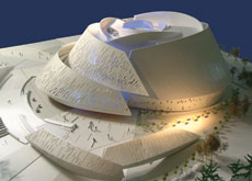 Model of the Massar Children's Discovery Centre.