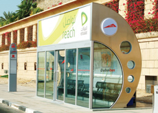 Right Angle Media's bus shelters have popped up all over Dubai