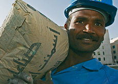 Mix mastered: the price of cement seems to be under control as local suppliers have upped their production to cope with demand. (Valeriano Handumon/AT