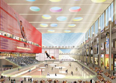ADVANCED: The Dubai Mall ice rink will feature state-of-the-art technology.