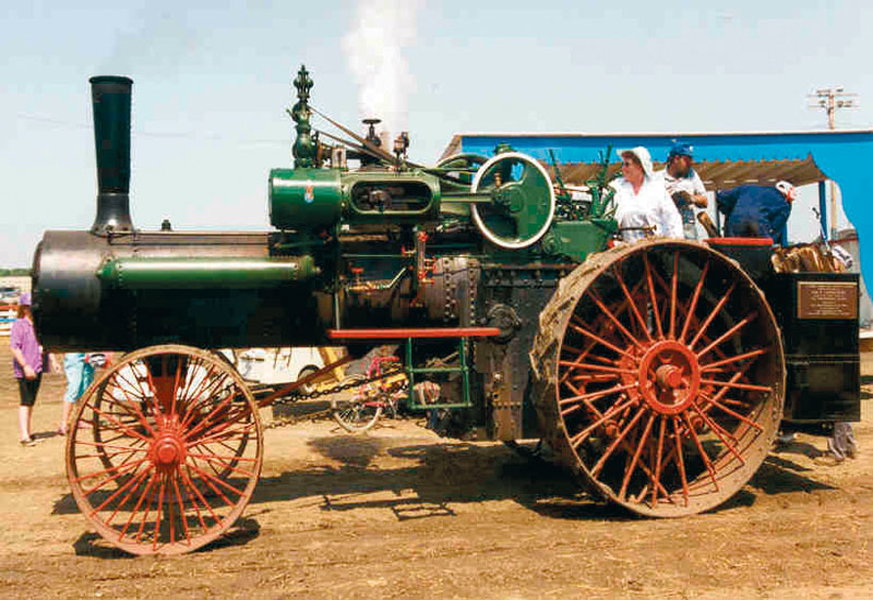 Steamy giant, self propelled boilers put the industrial world on wheels for the first time.