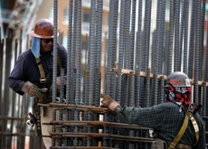 The price of metal used in construction has dramatically increased